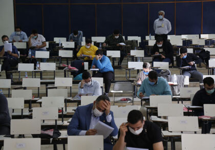 آزمونقضایسال۹۹ 420x294 - فنون مشاوره کنکور تجربی 1400 با کنکور آسان است